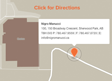 Nigro Manucci Law - 100, 150 Broadway Crescent, Sherwood Park, AB T8H 0V3